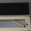 Internal Brass Period Letterbox Tidy & Draught Excluder