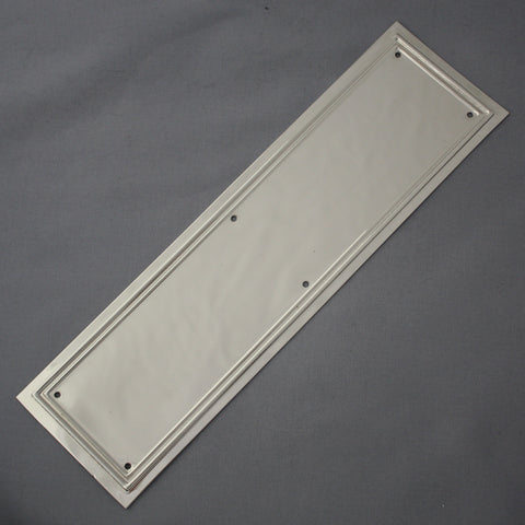 Nickel Lincoln Finger Plate