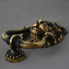 Brass Antique Lion Head Door Knocker