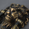 Antique Lion Head Brass Door Knocker