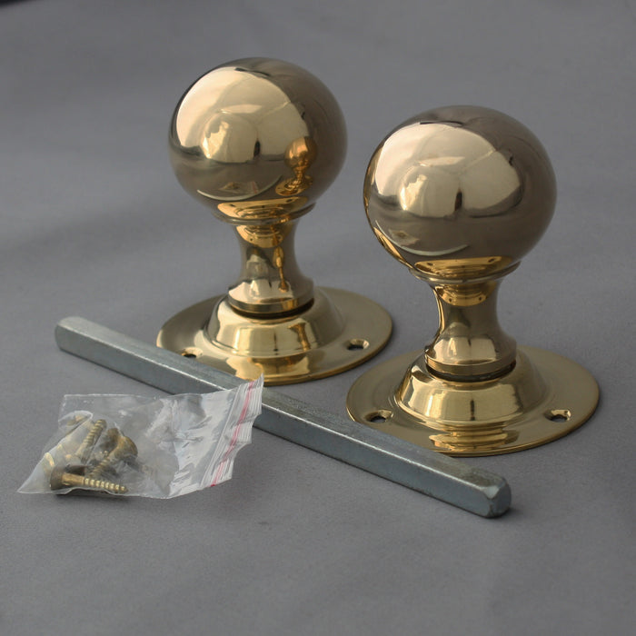 Ball Edwardian Door Handles
