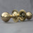 Edwardian Ball Brass Door Knobs