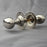 Nickel Edwardian Oval Door Handles