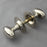 Nickel Oval Door Knobs