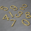 Traditional Brass Front Door Numerals