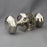 Georgian Nickel Octagonal Door Knobs