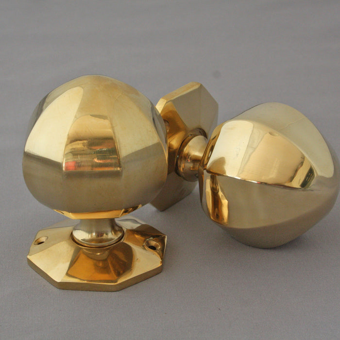 Period Octagonal Door Knobs