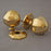 Brass Period Octagonal Brass Door Knobs