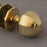 Period Brass Octagonal Door Knobs