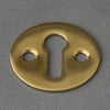 brass open escutcheon