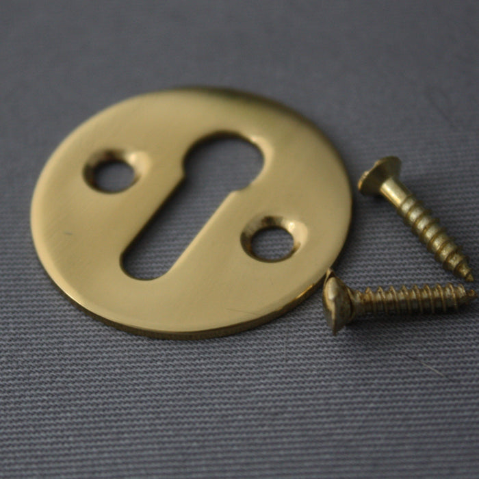 Open Brass Escutcheon