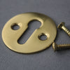 Brass Open Door Escutcheon