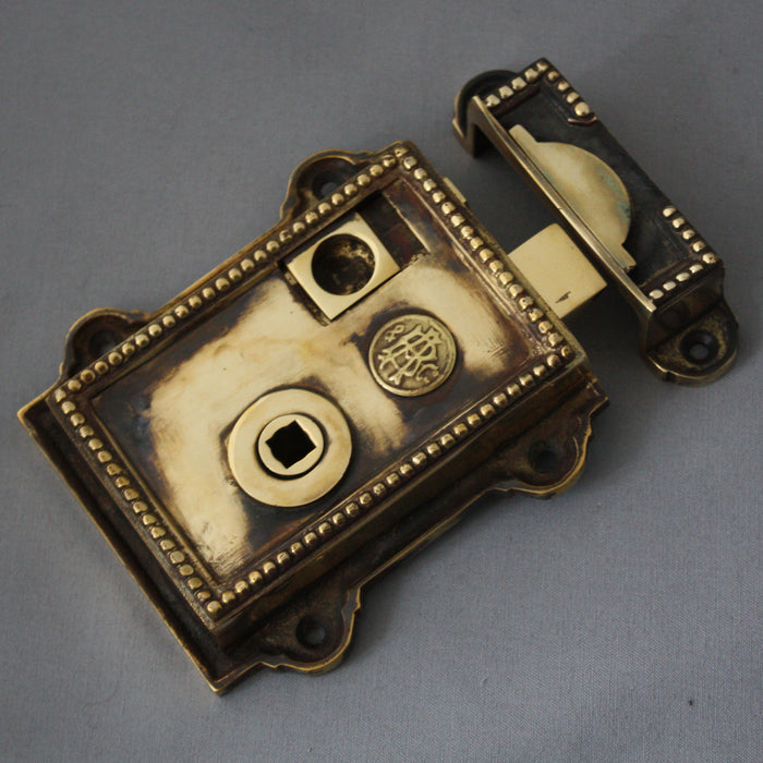 Brass Regency Rim Latch