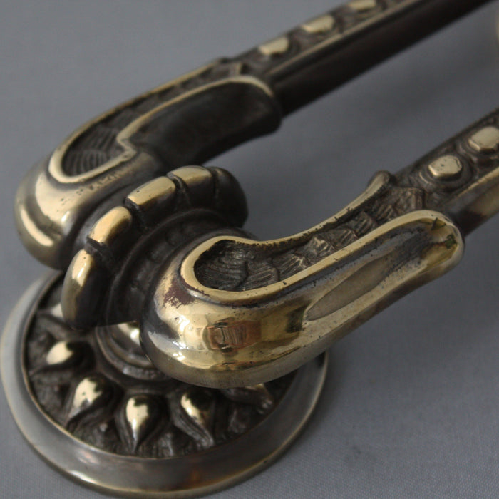 Georgian Brass Regency Door Knocker
