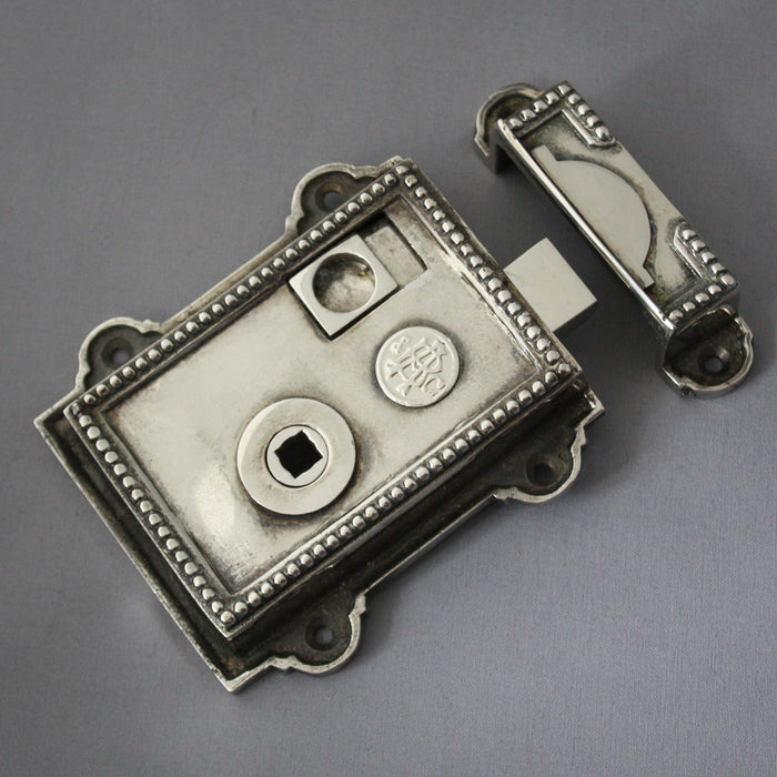 Nickel Regency Rim Latch
