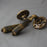 Brass period lever door handles