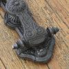 Iron front door knocker