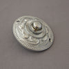 Decorative Chrome Victorian Bell Push