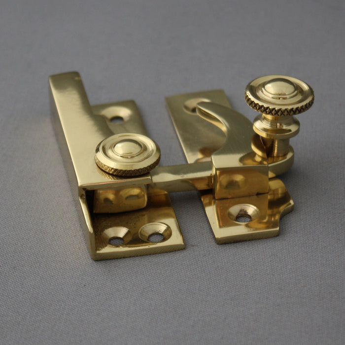 Edwardian Brass Sash Window Fastener