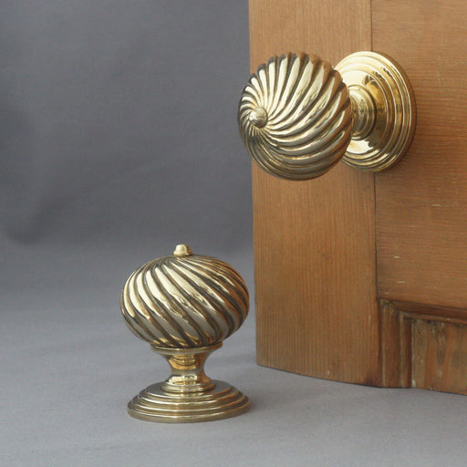 Edwardian Segmented Door Handles