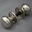 Nickel Small Cottage Door Handles