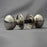 Nickel Small Cottage Door Knobs
