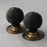 Beehive Solid Ebony door handles