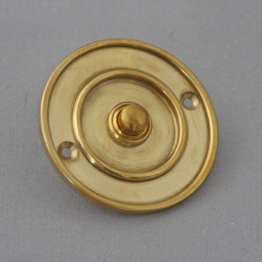 Traditional 3in Brass Bell Push