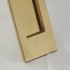 Period Vertical Brass Letterbox