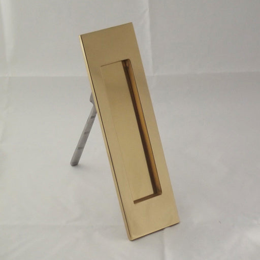 Vertical Brass Letterbox