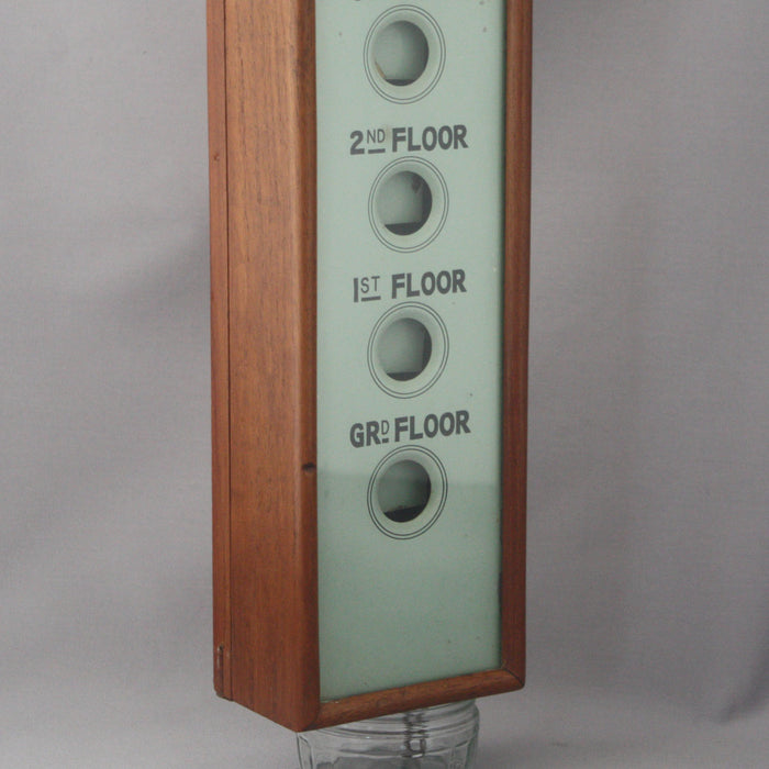 1920s Servants or Staff Vertical Call Box