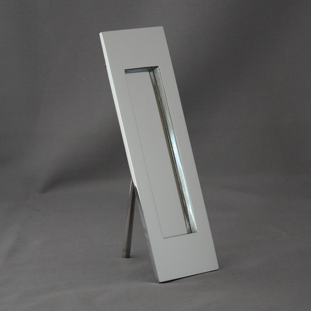 Vertical Chrome Letterbox