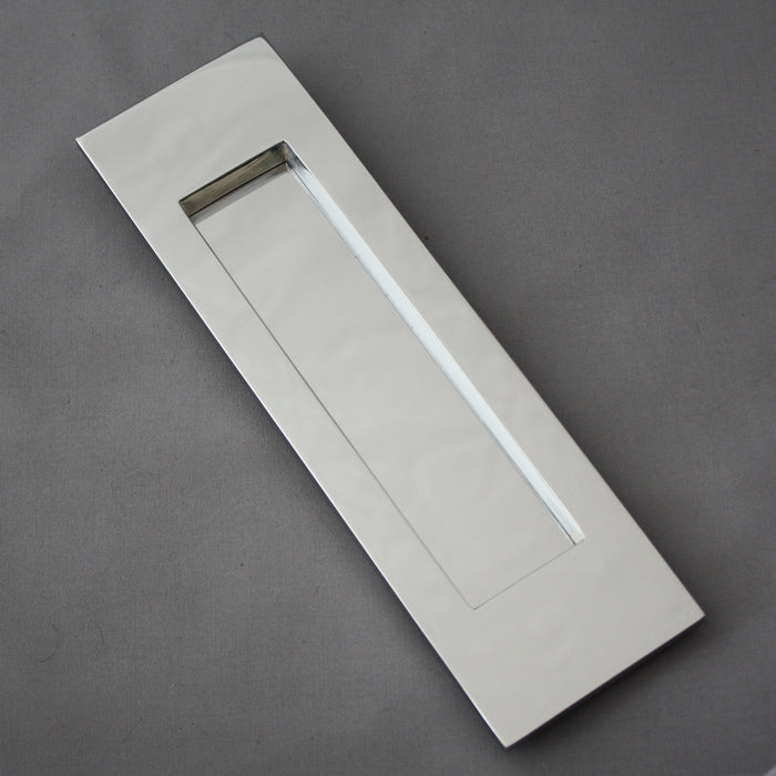 Chrome Vertical Letterbox and Internal Flap