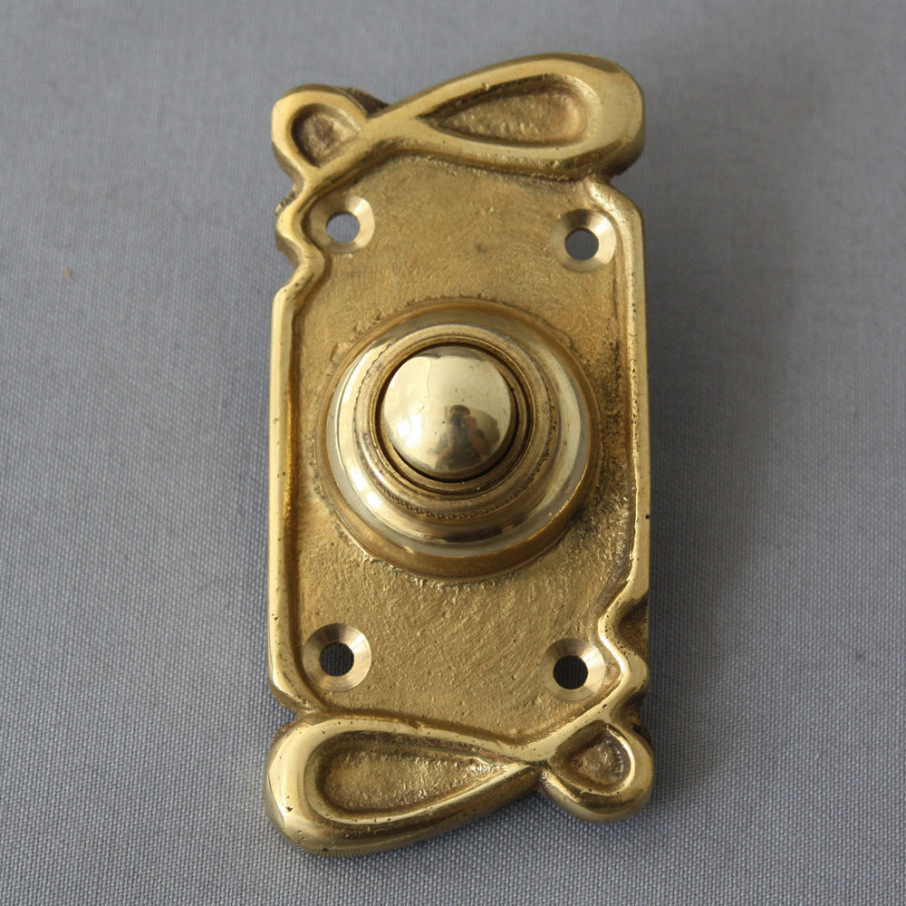Art Nouveau Electric Bell Push