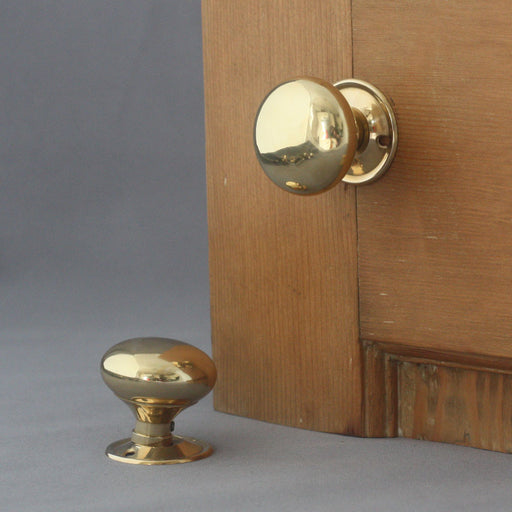 Brass Cottage Period Door Handles