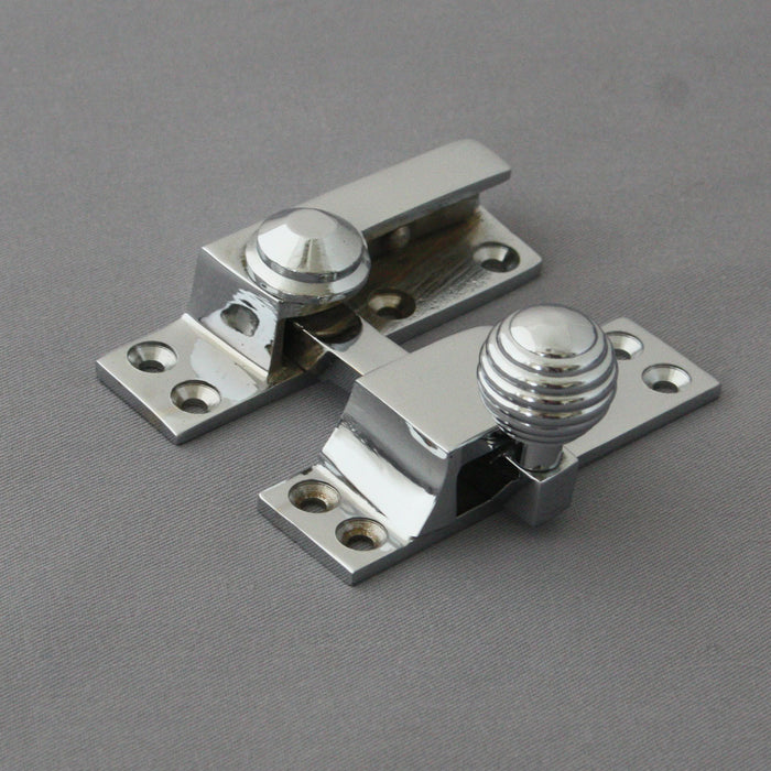 Chrome Beehive Sash Window Fastener