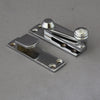 chrome sash window lock