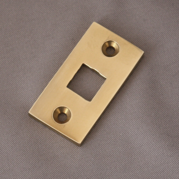 Receiver Plate Large Brass Bolt