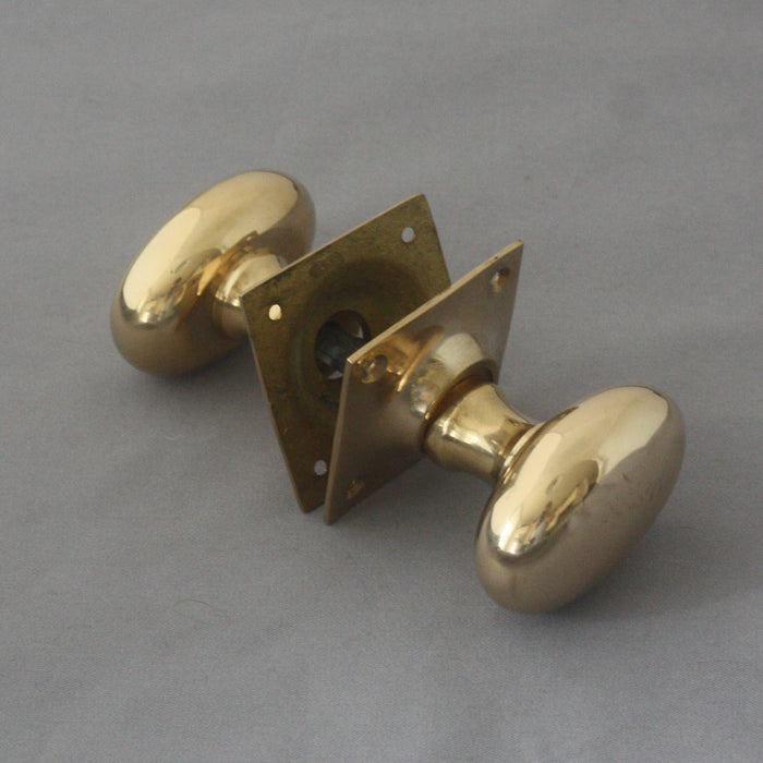Oval Period Door Handles