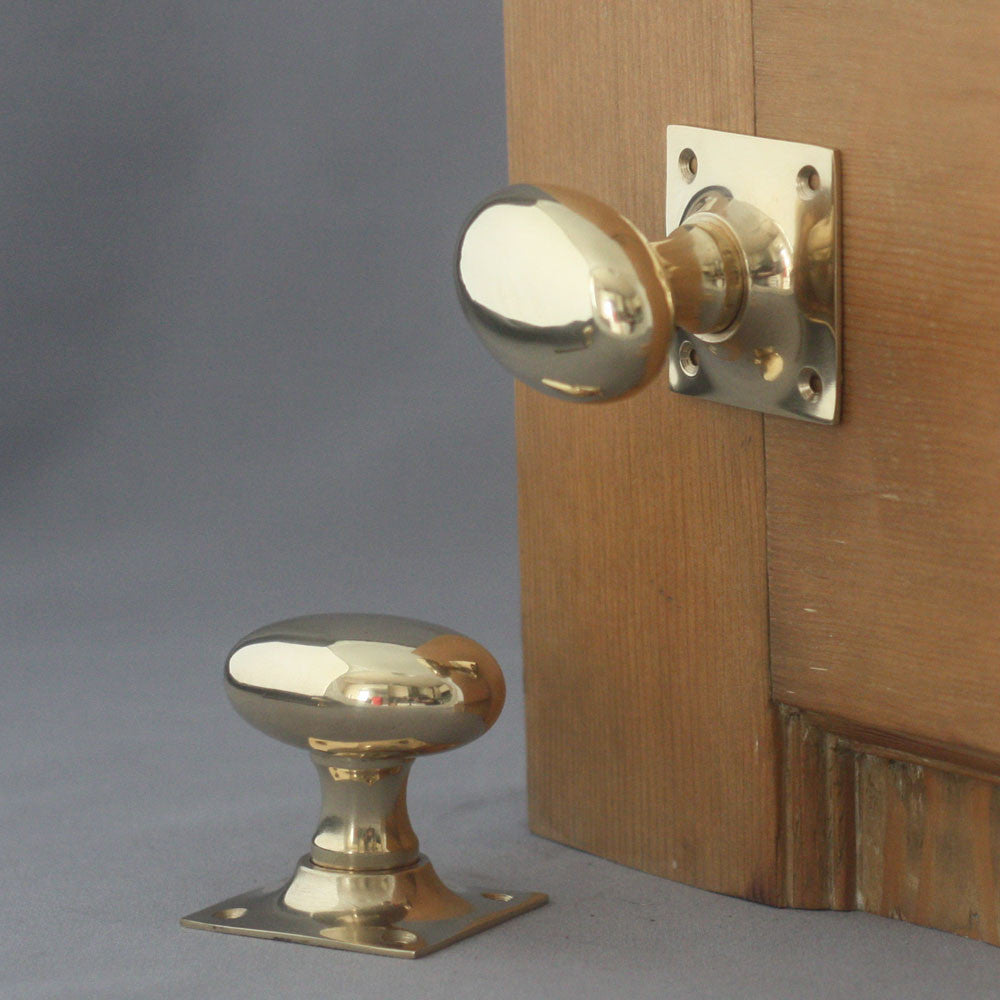 Period Oval Door Handles