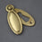 Victorian Raised Oval Escutcheon