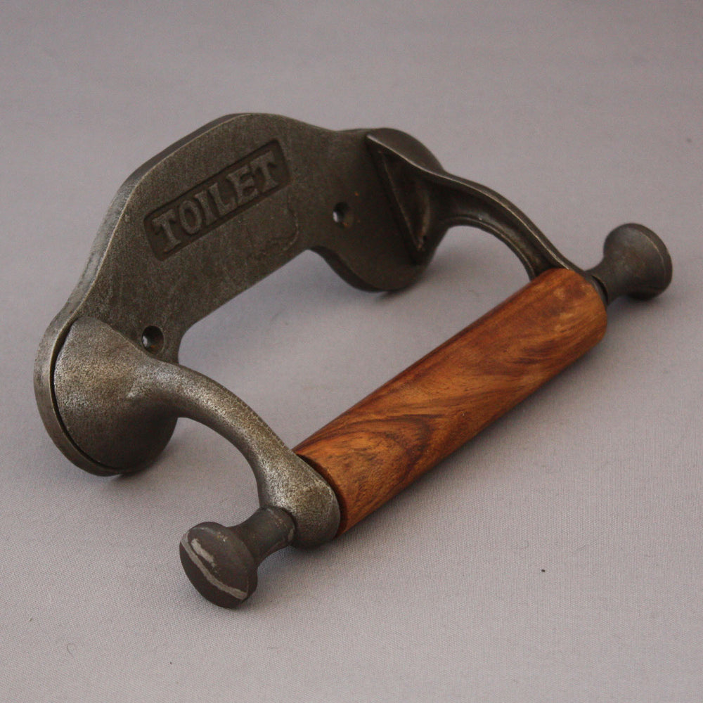 Edwardian toilet roll holder