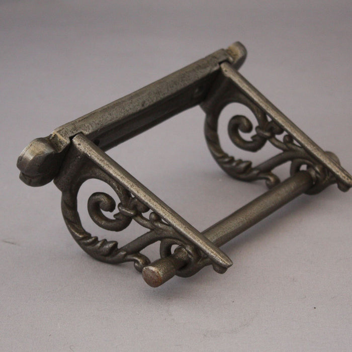 Antique Iron Scroll Toilet Roll Holder