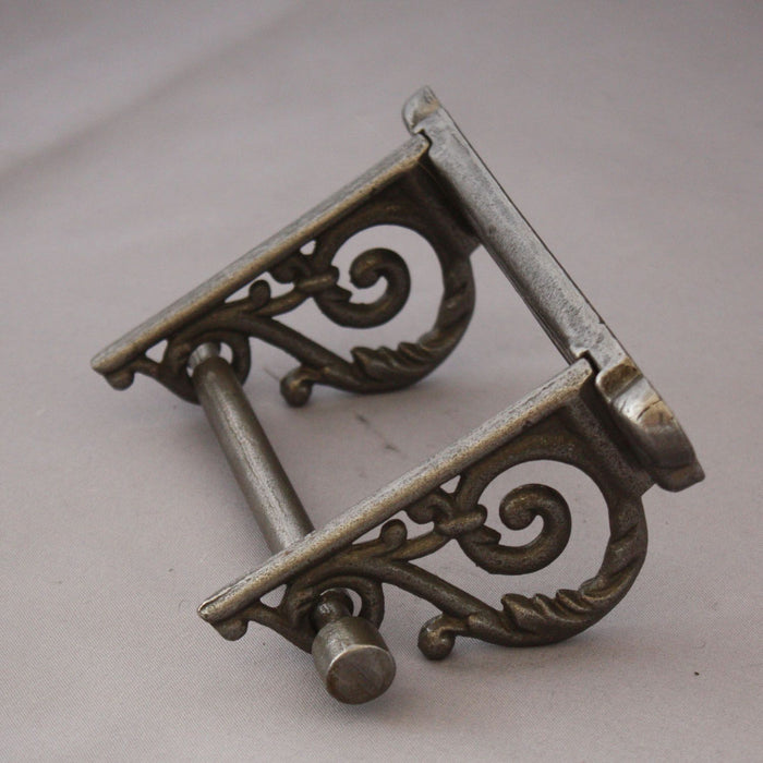 Iron Scroll Toilet Antique Roll Holder