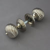 Segmented Nickel Door Knobs