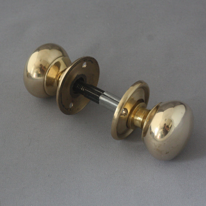 Small cottage rim lock handles