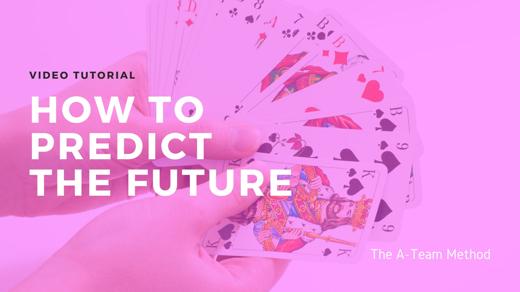 How To Predict The Future Video Tutorial