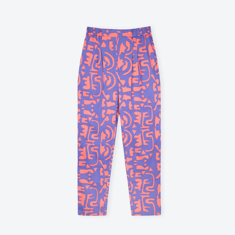 Blue Delta Holiday Trousers