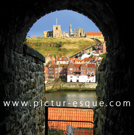 Whitby blank greetings card