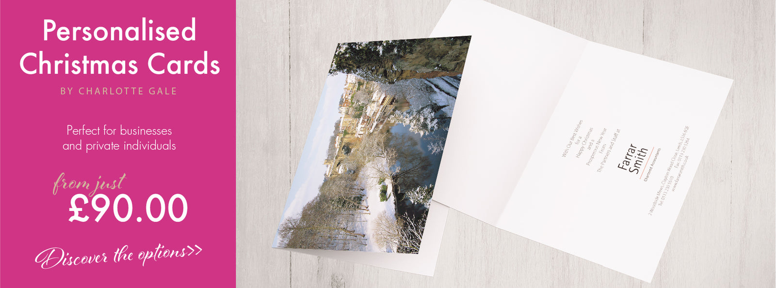Yorkshire Corporate Christmas Cards By Charlotte Gale Pictur Esque
